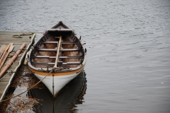 Whaling Boat on Merrimack River, Amesbury, MA