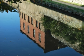 C&O Canal Reflection, Georgetown, Washington, D.C.
