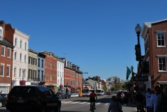 Multimodality, M Street NW, Georgetown, Washington, D.C.
