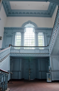 Palladian window and stairs, Independence Hall, Philadelphia, PA
