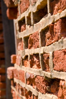 Improper repointing consequences, Compton Bassett