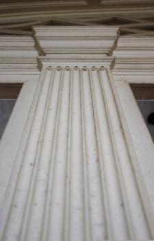 Detail of pilaster, Compton Bassett house.