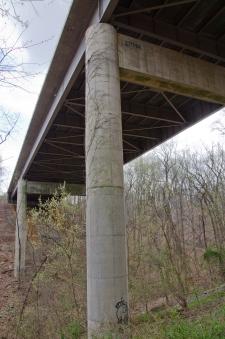 George Washington Memorial Parkway bridge underside.