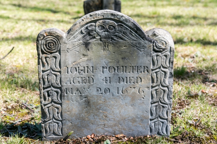 JOHN POULTER AGED 41 DIED MAY 20, 1676